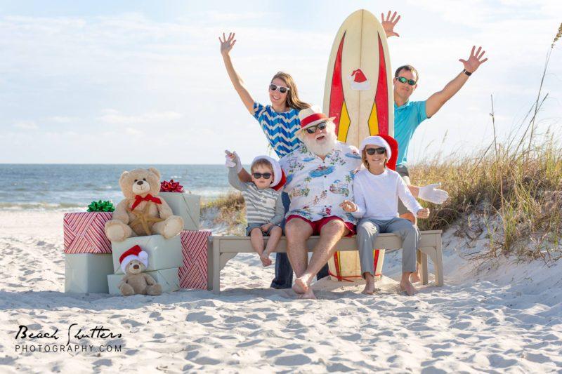 Santa in Gulf Shores & Orange Beach