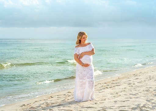 Maternity photo session Destin florida