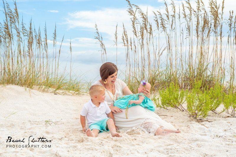 Vacation Beach Portraits in Alabama