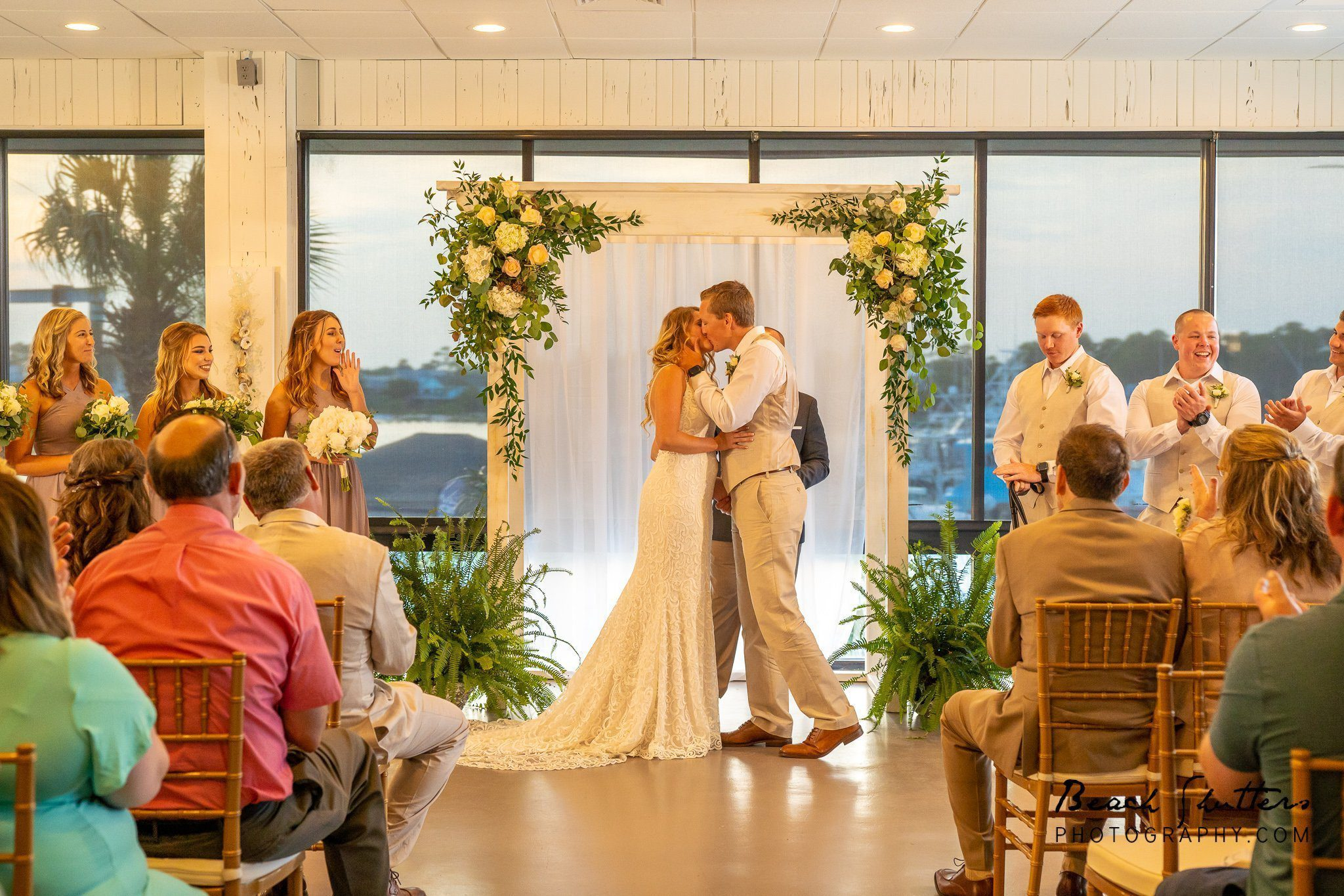Wedding at the Port at Zekes Landing in Orange Beach