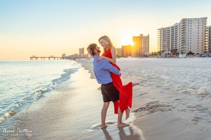 engagement photos in Orange Beach
