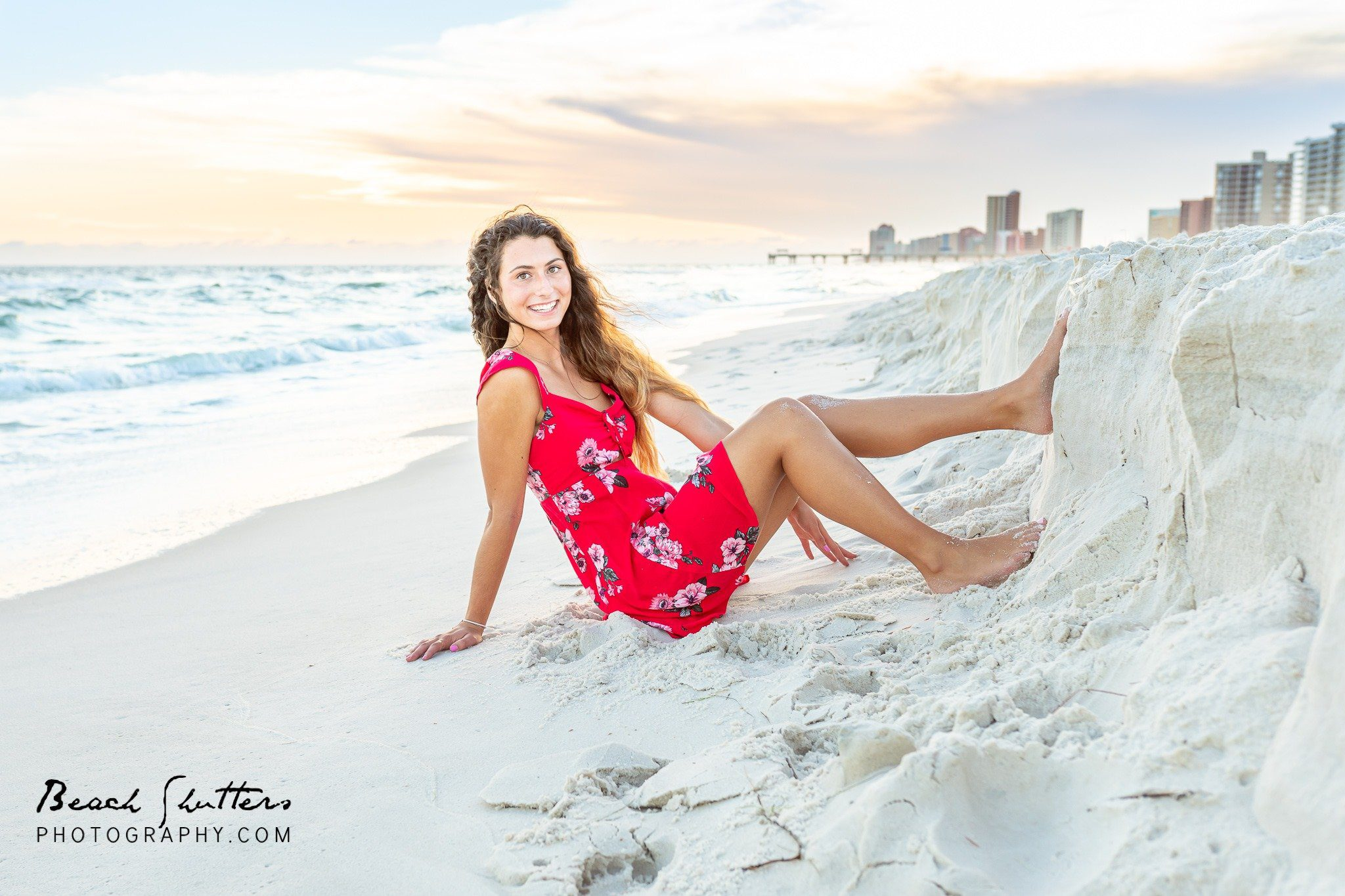 senior photos in Orange Beach