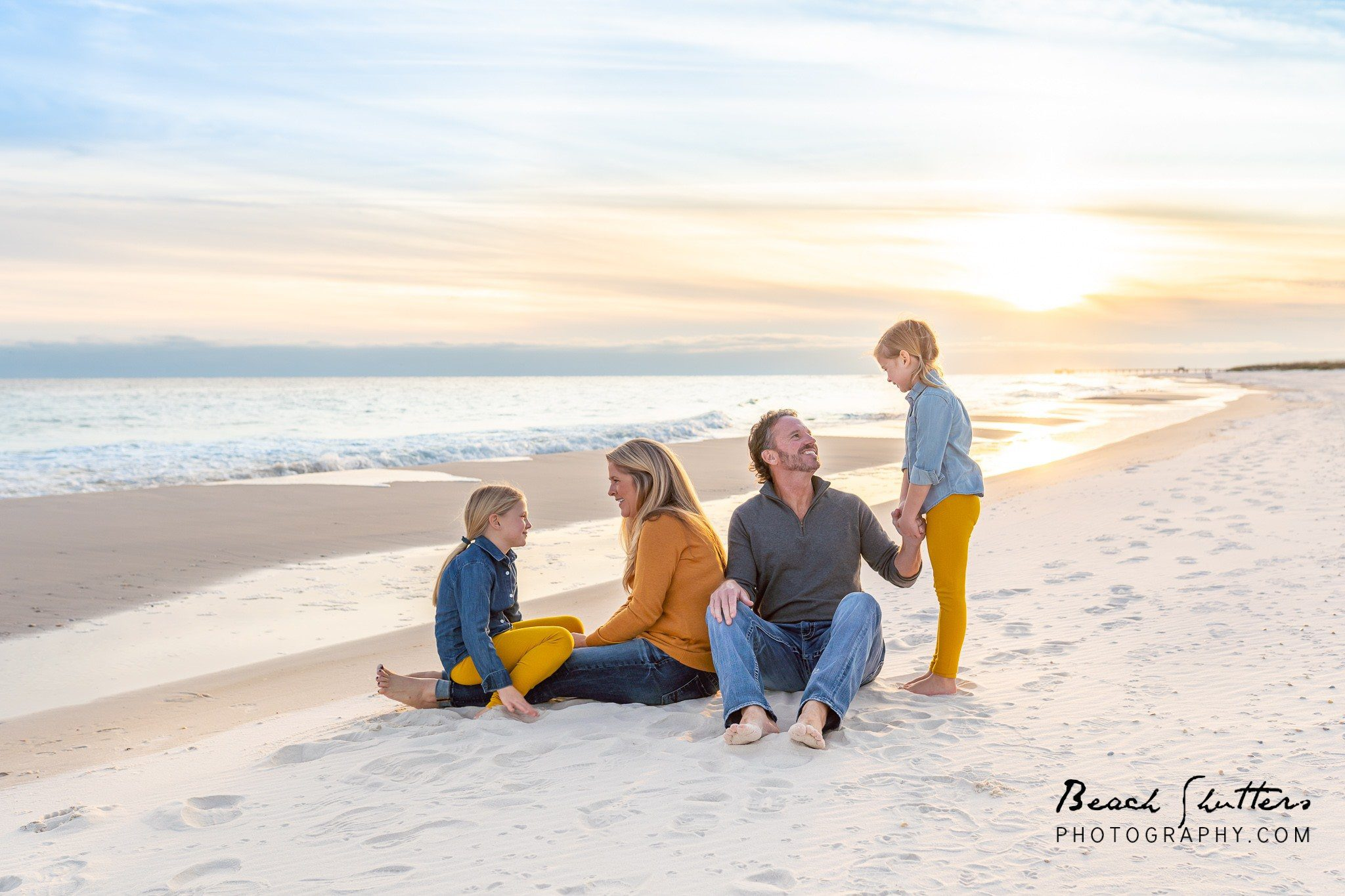 Beach Shutters photography loves fall at the beach in Alabama