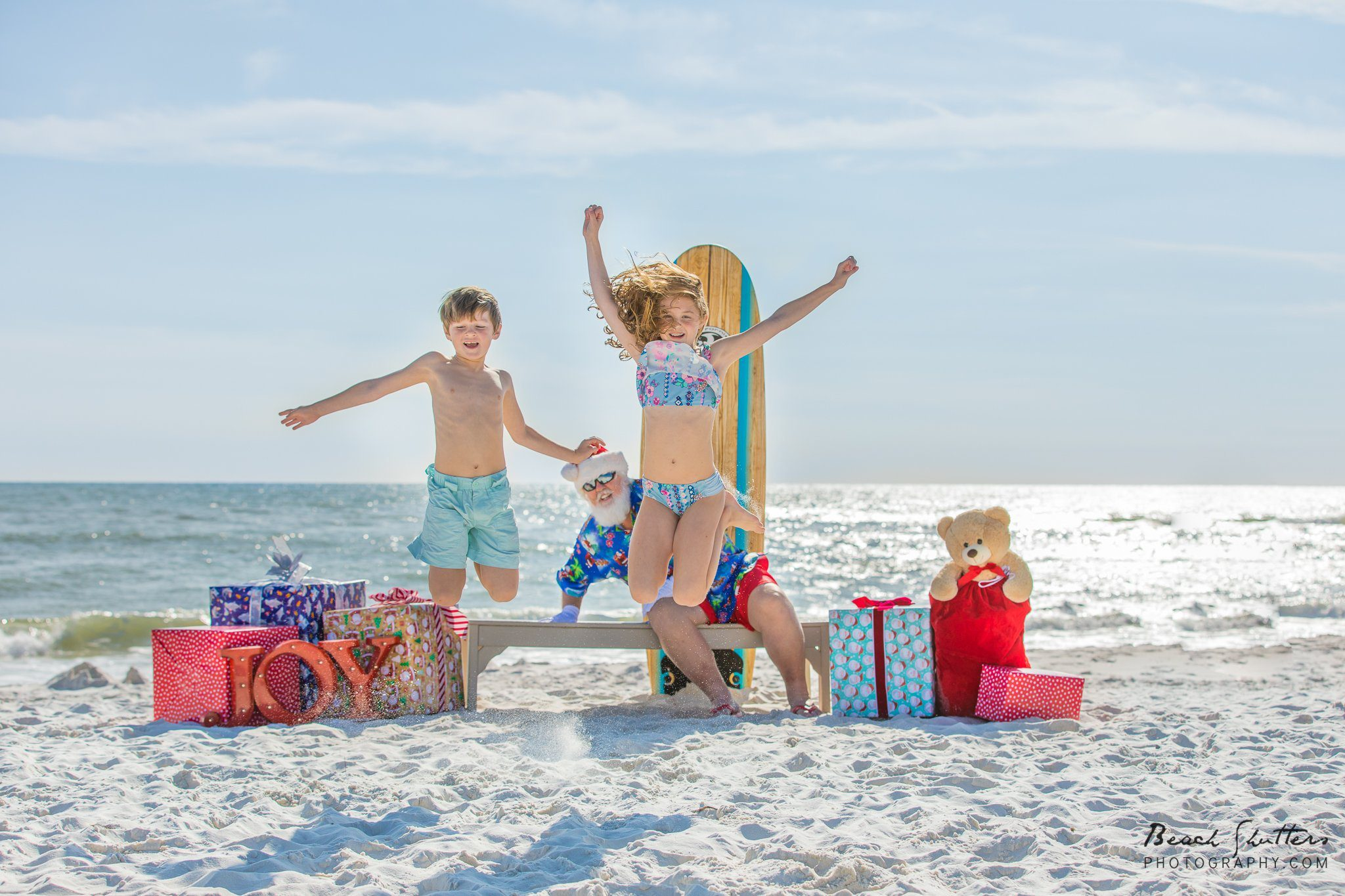 Santa photos in Orange Beach and Gulf Shores