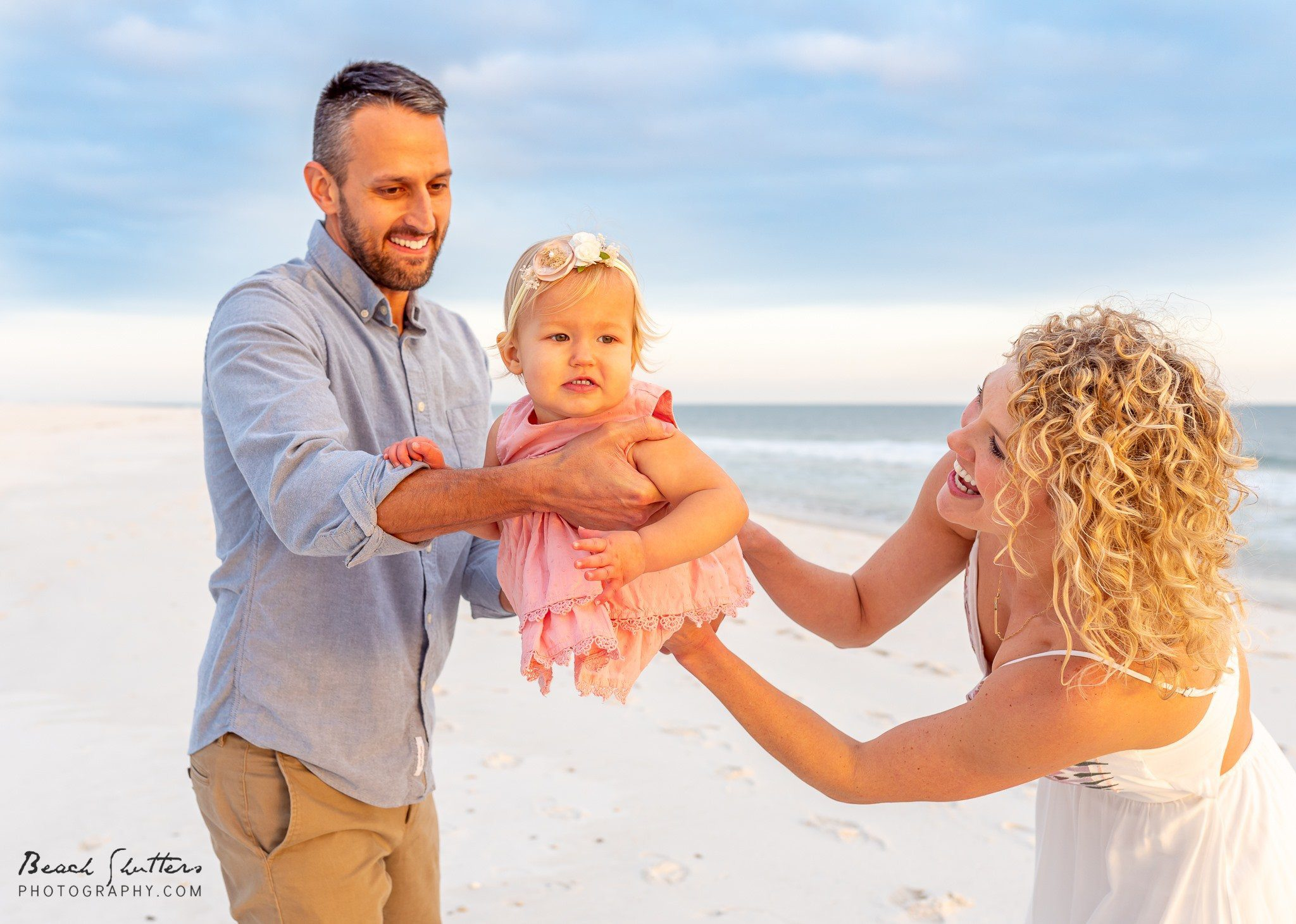 beach portraits in Perdido Key