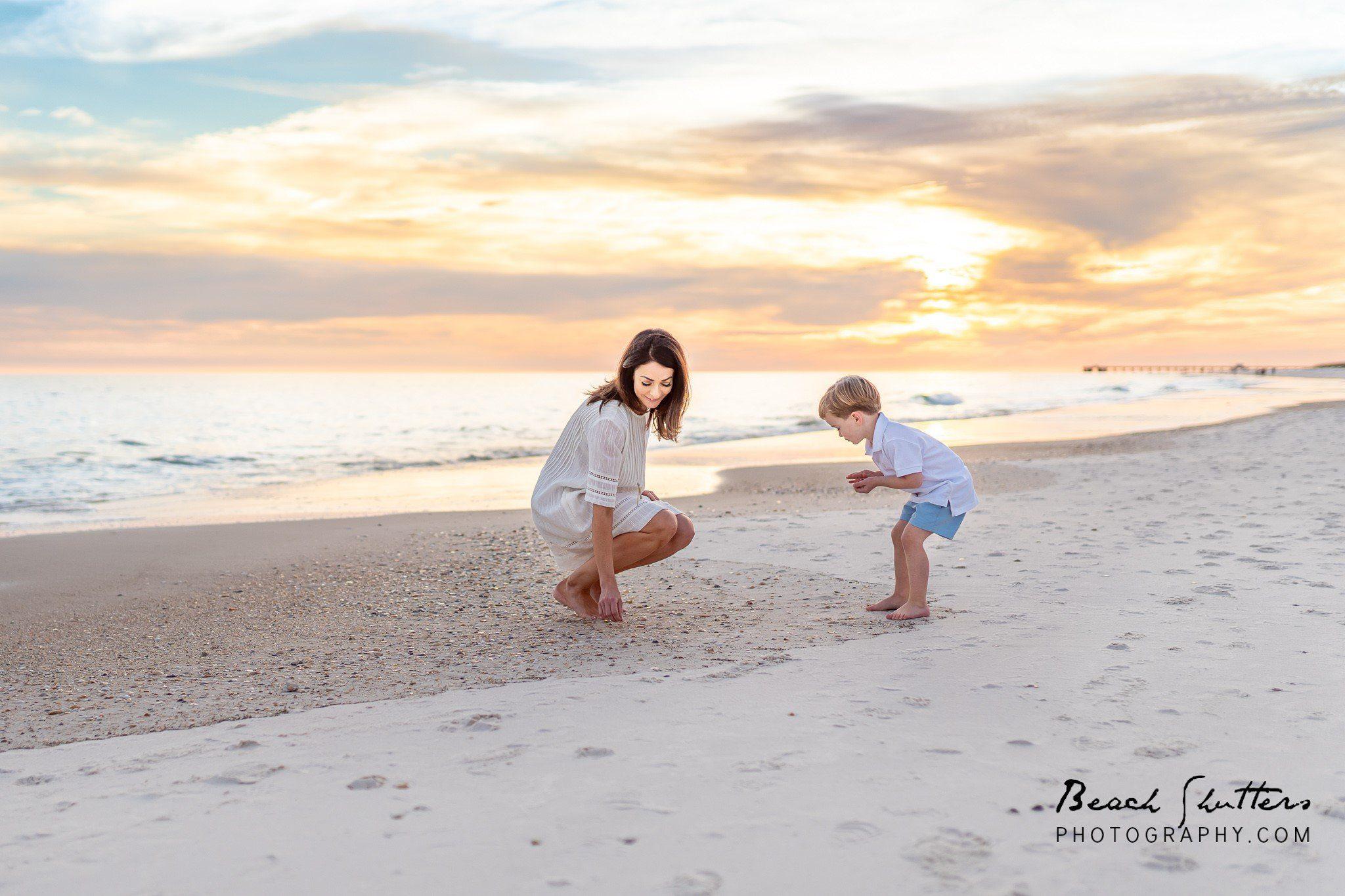 alabama beach sunsets