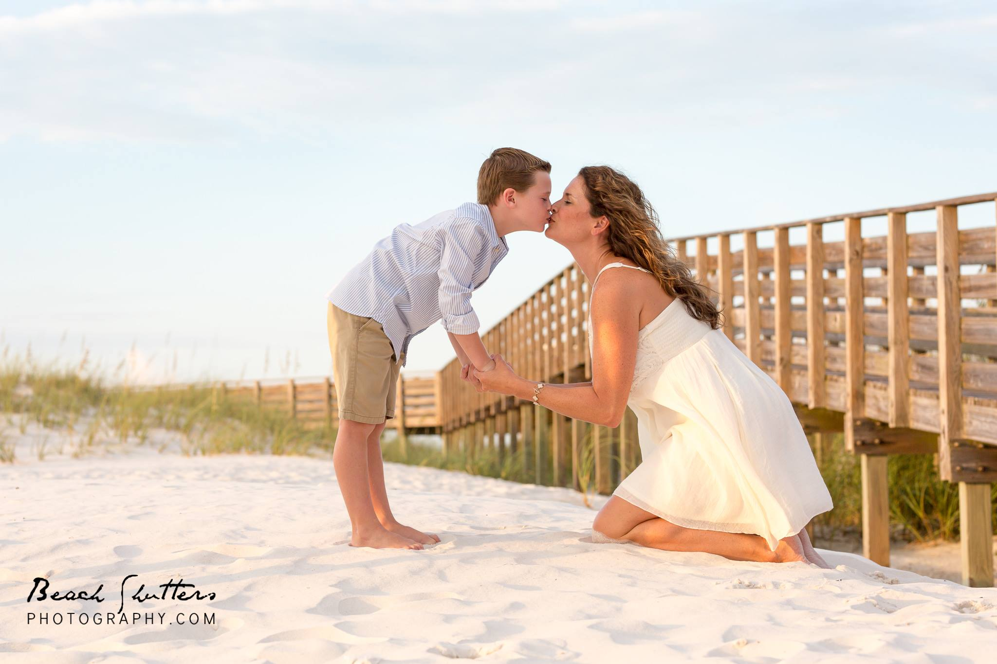 mother and son photography in Orange Beach