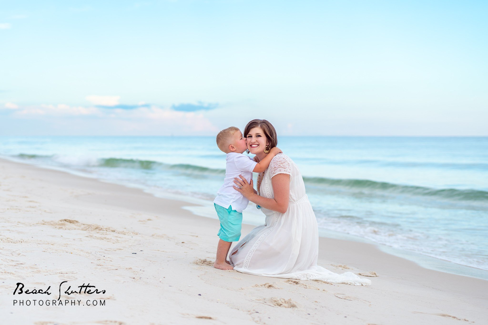 beach portraits in Orange Beach