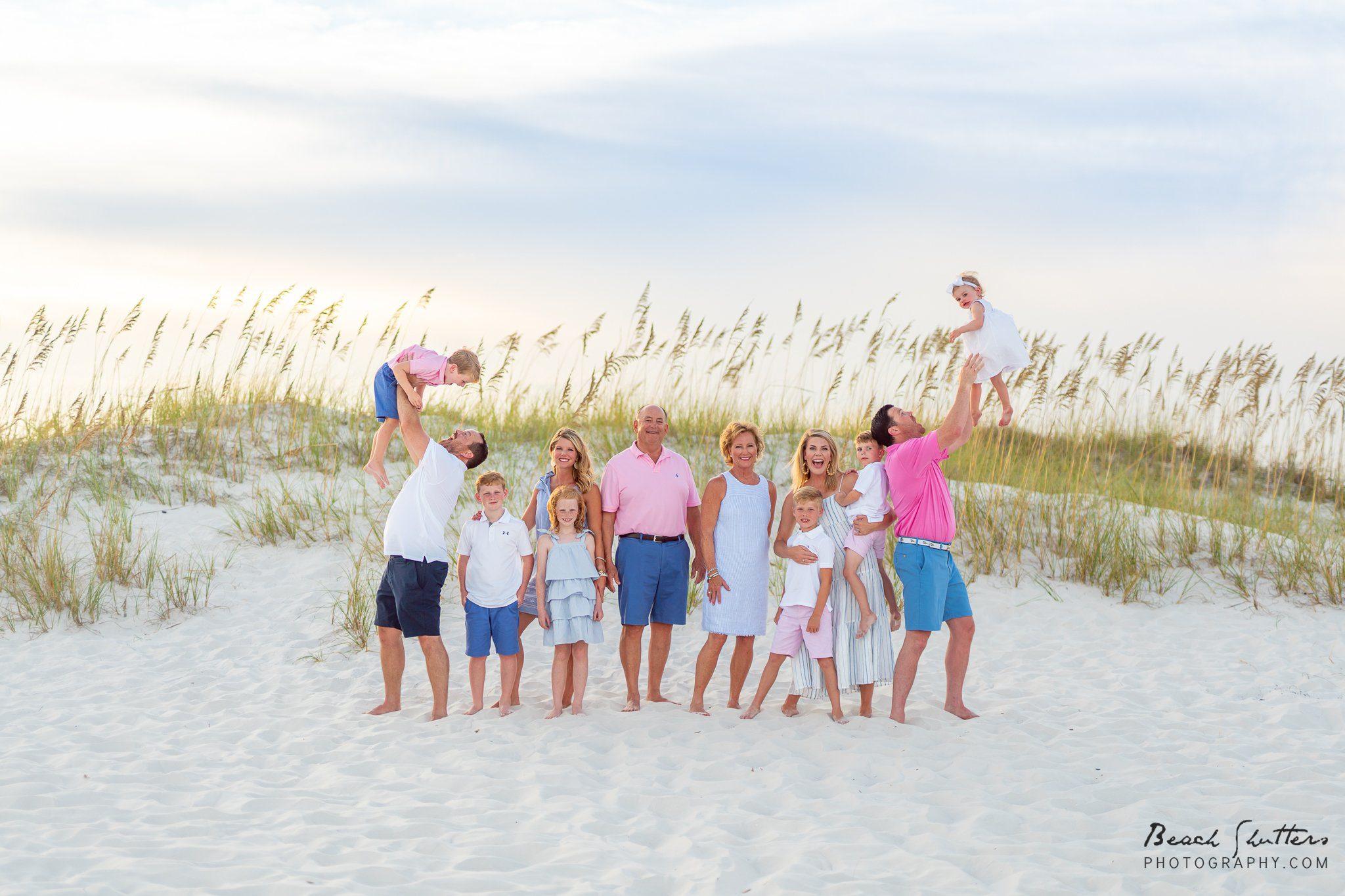 fun family photographers in Orange Beach Alabama