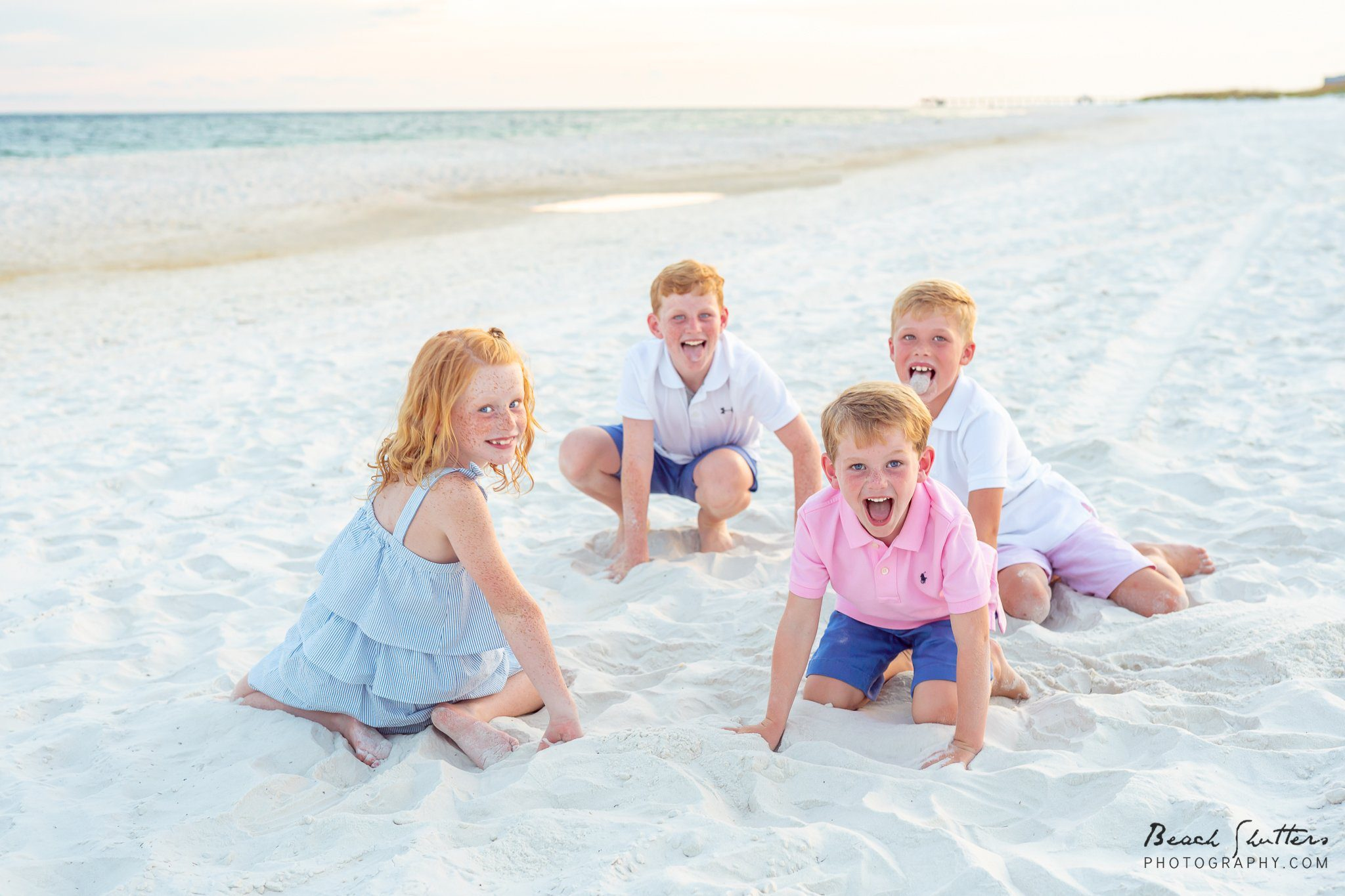 family beach photographer in Alabama