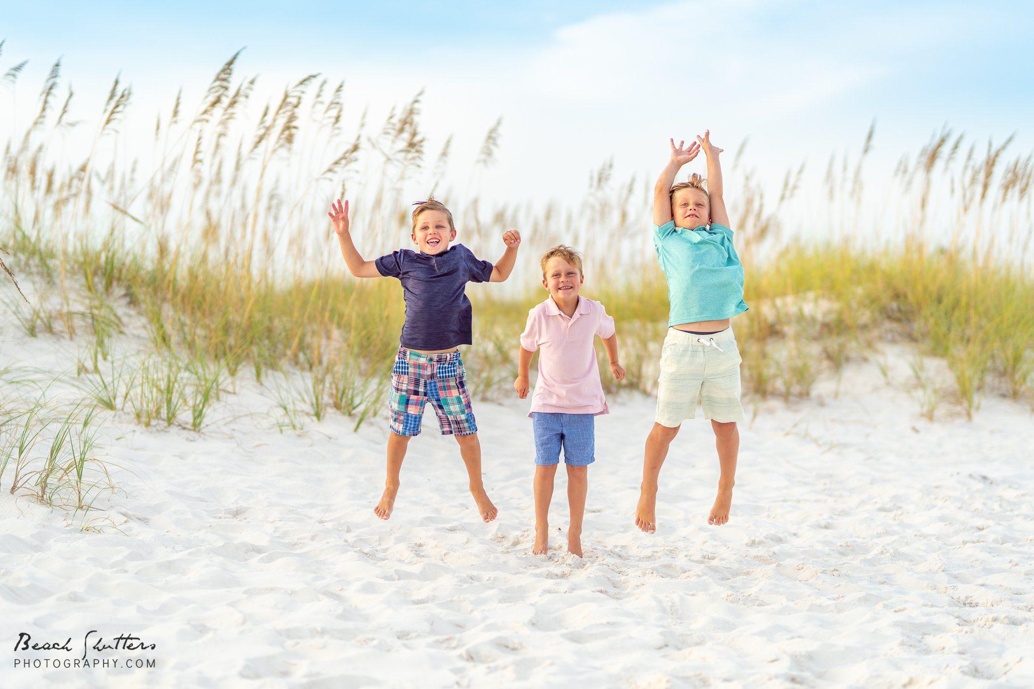 Orange Beach family vacation portraits
