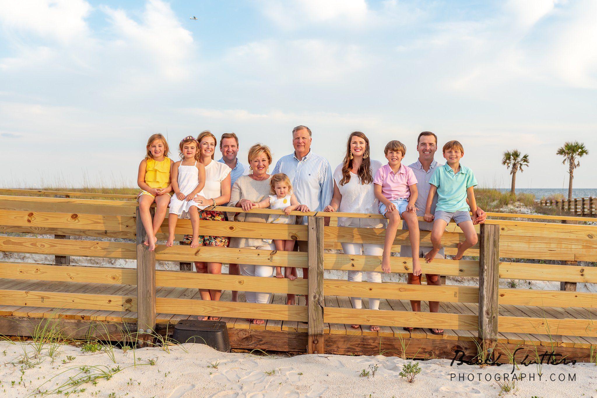 Gulf Shores vacation portraits