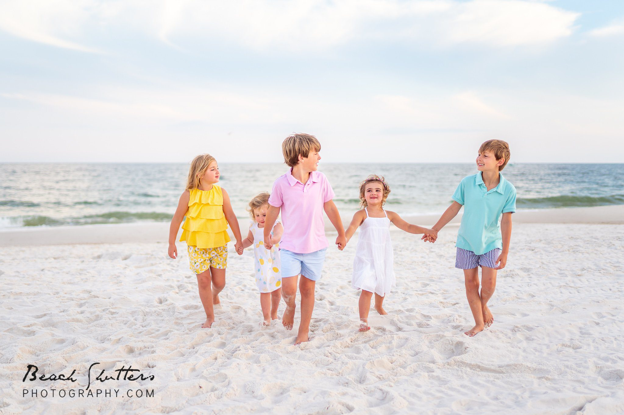 Orange Beach vacation beach portraits Alabama