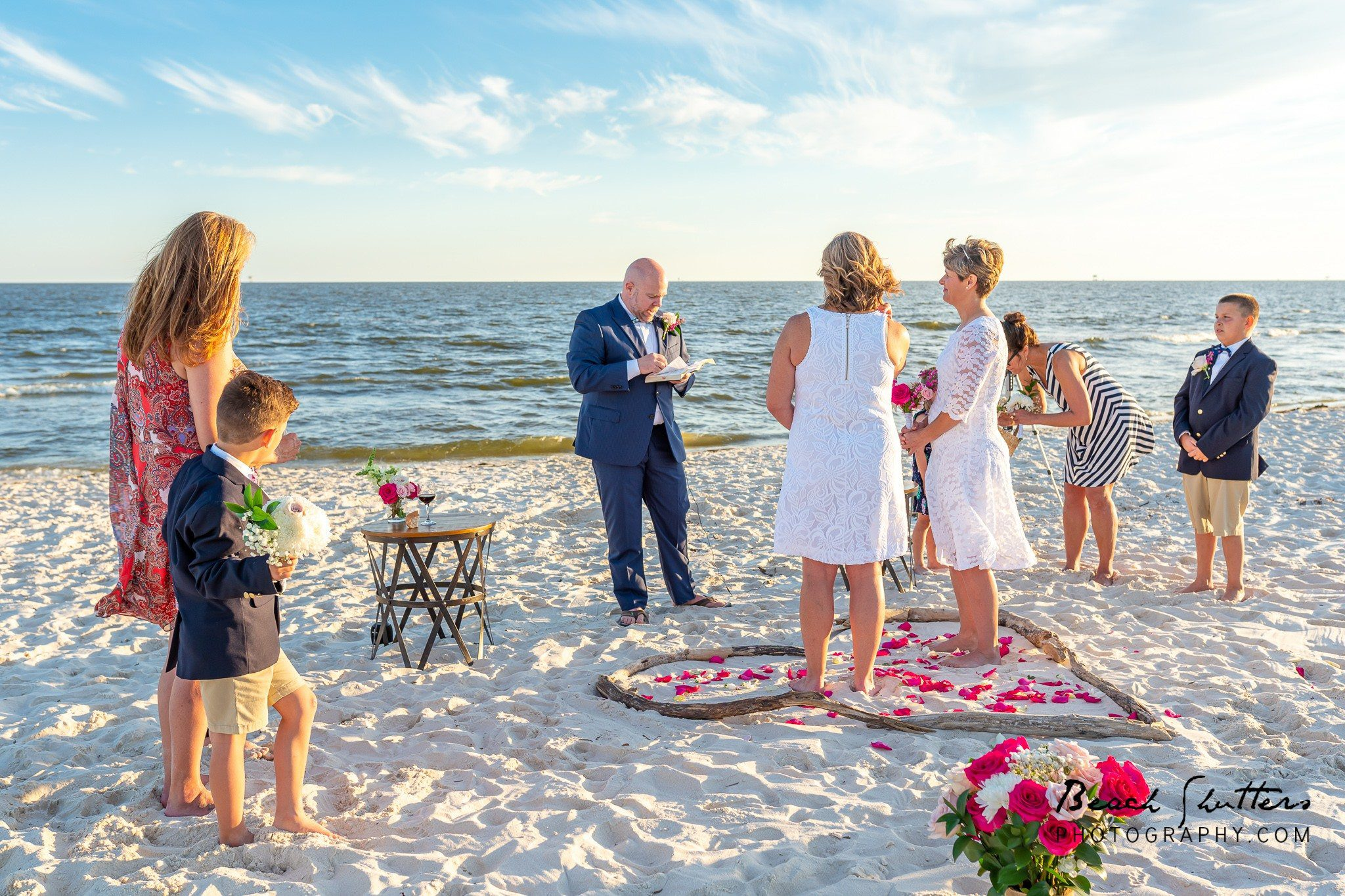 beach photographers in Gulf Shores beach weddings