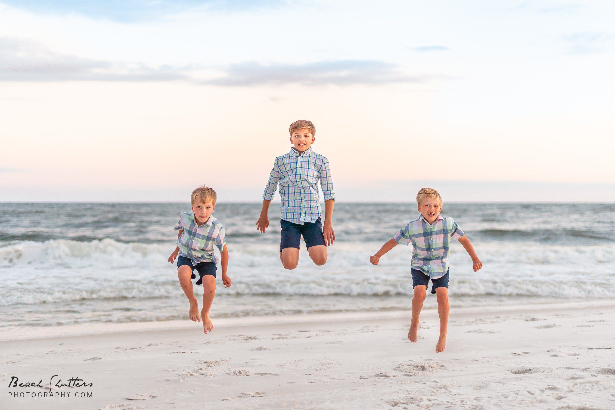Orange beach portraits