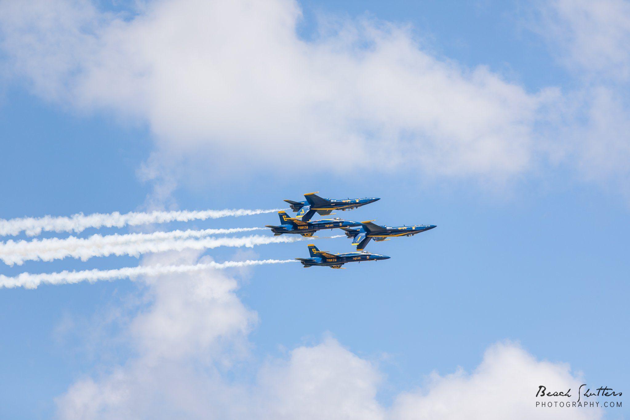 Blue Angels in Orange Beach