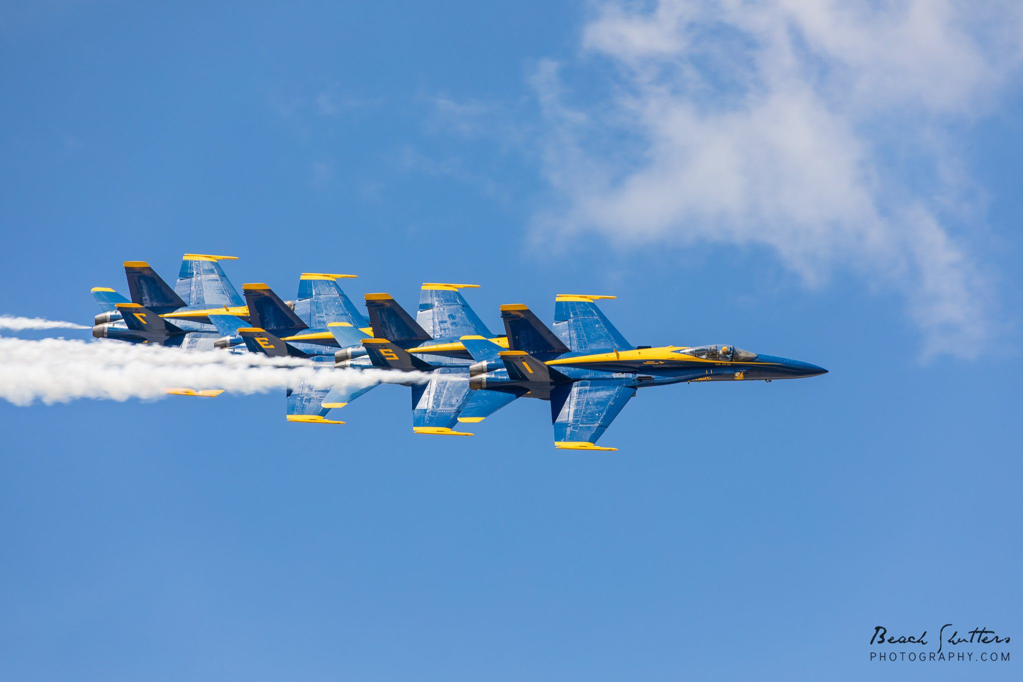Air Show Blue Angels in Orange Beach Alabama
