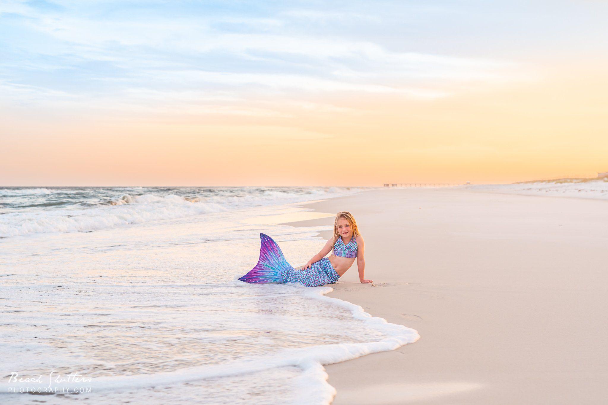 mermaid photos in Orange Beach