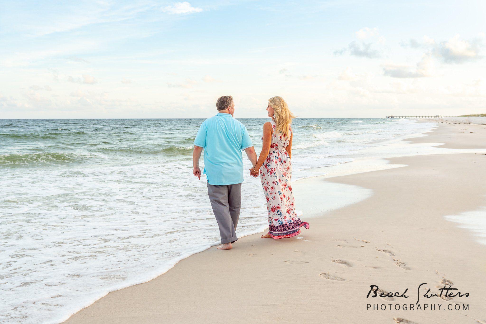 Anniversary photos in Orange Beach Alabama