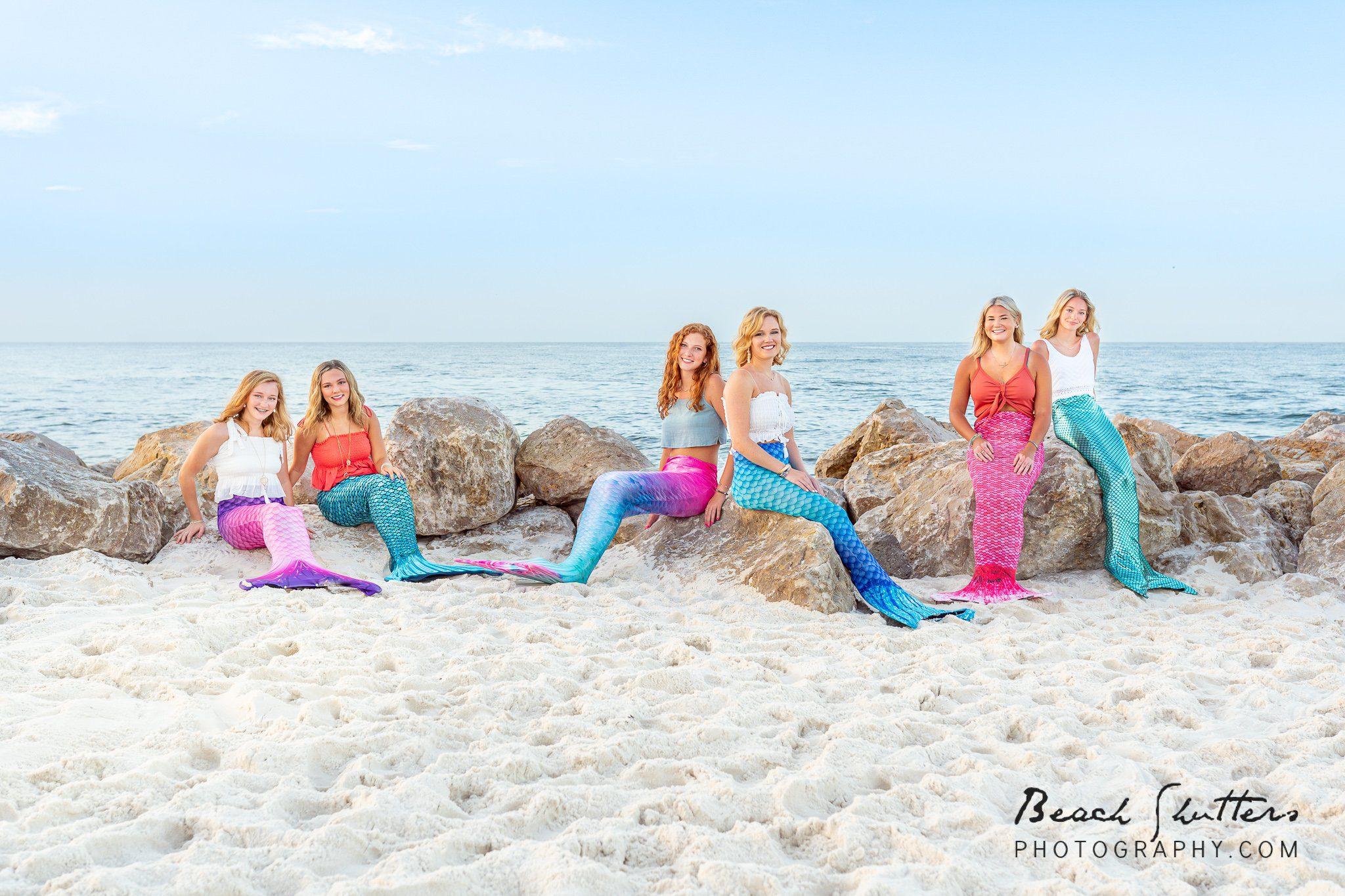 mermaids in Gulf Shores Alabama