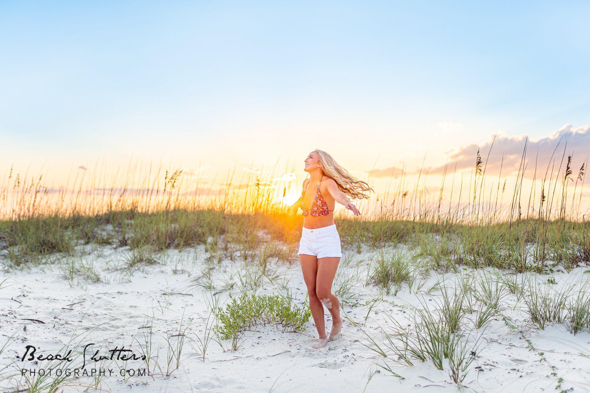 sunset photography at Alabama beaches