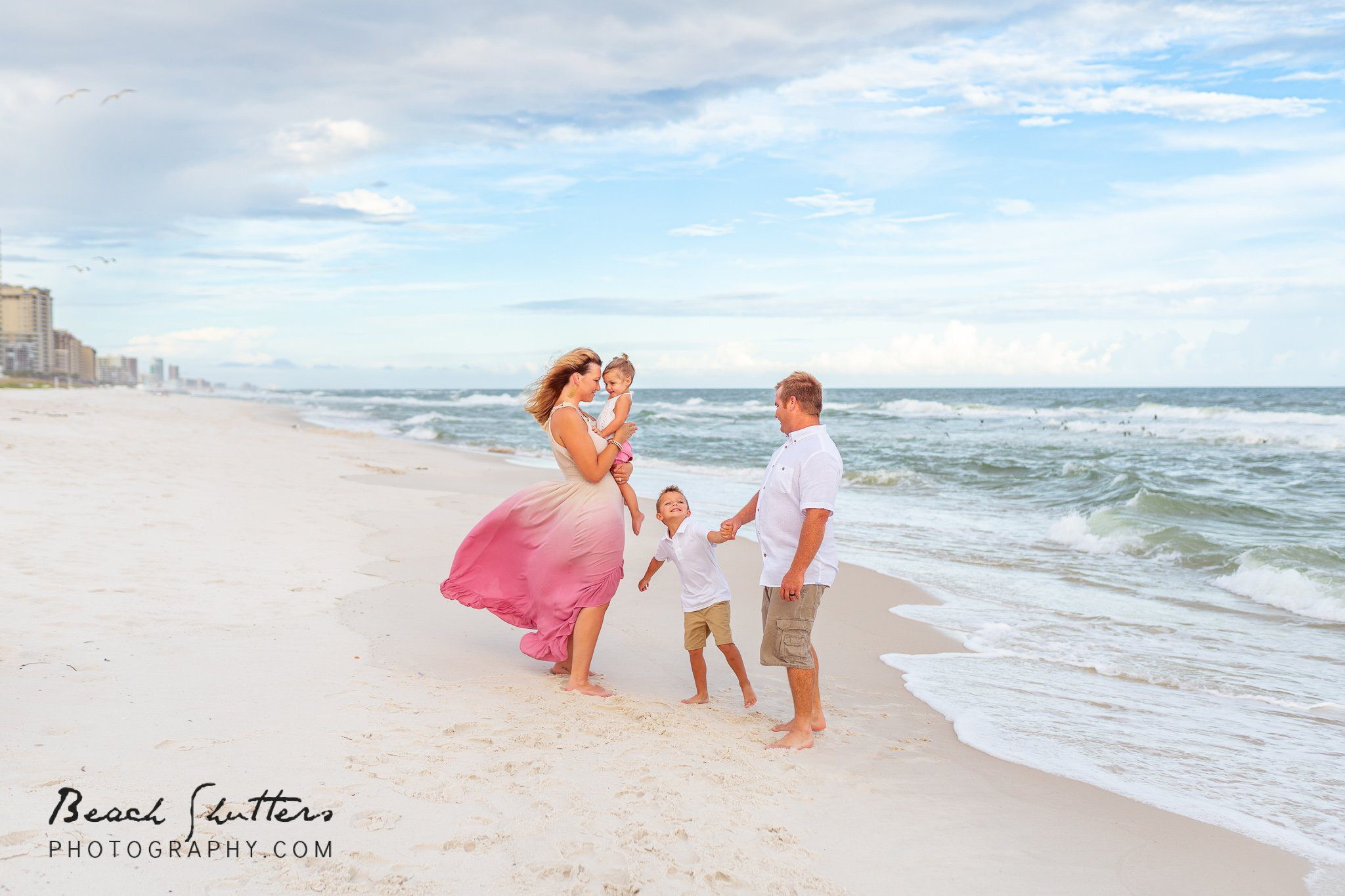 vacation beach portraits in Gulf Shores