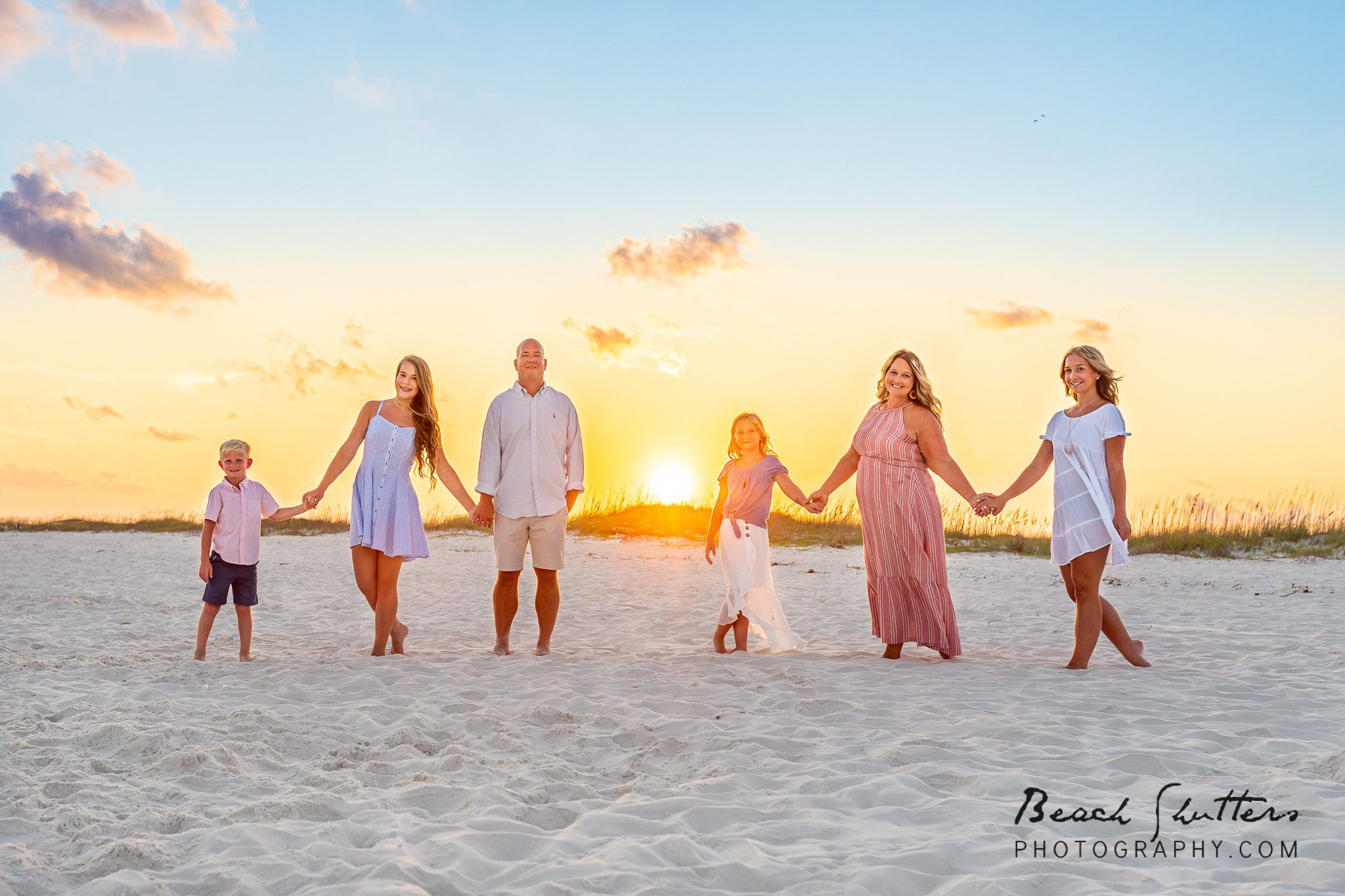 blended family photos in Orange Beach