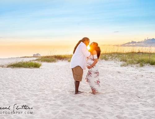 Maternity photos in Perdido Key