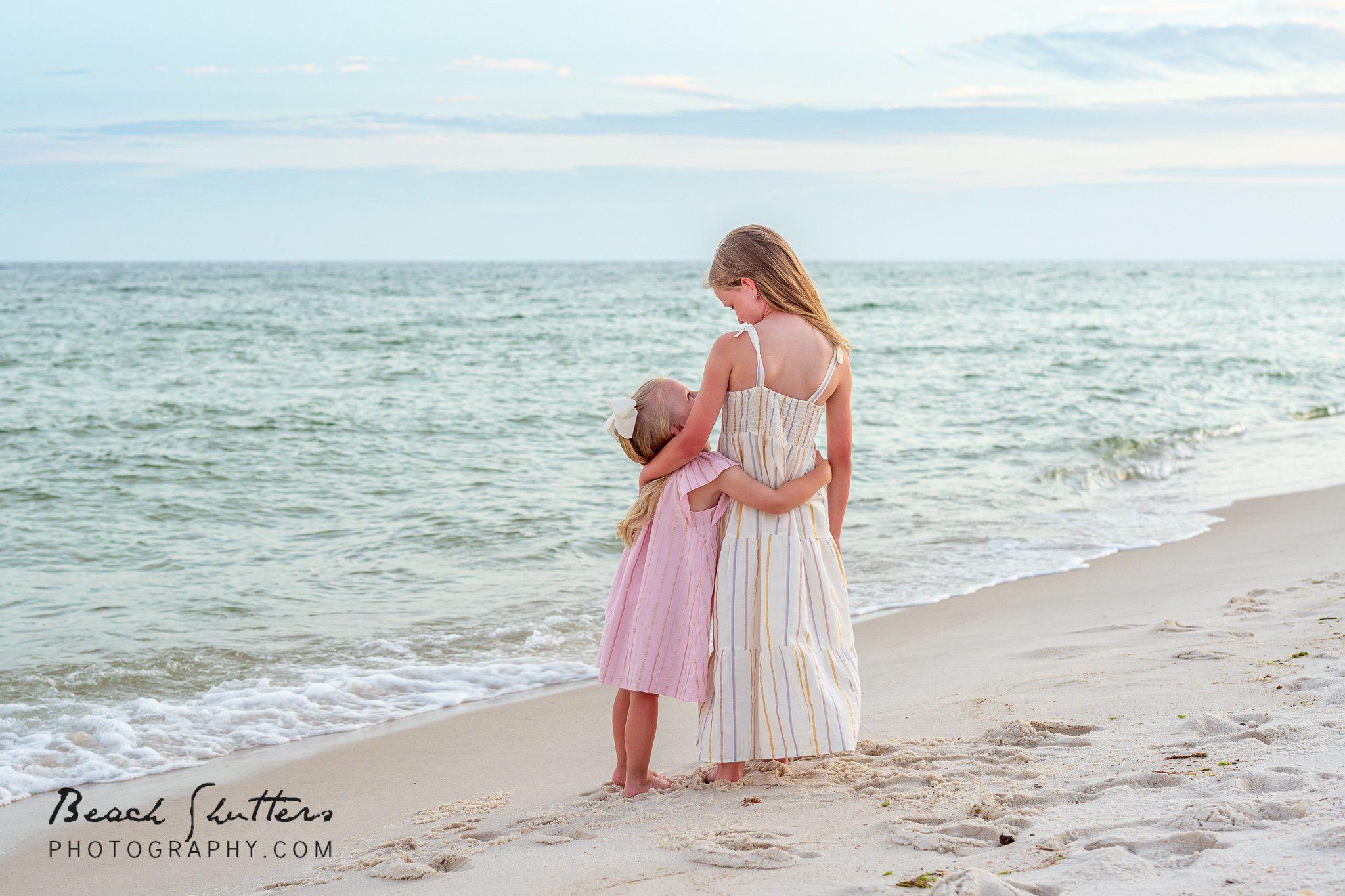 beach portraits props in Fort Morgan