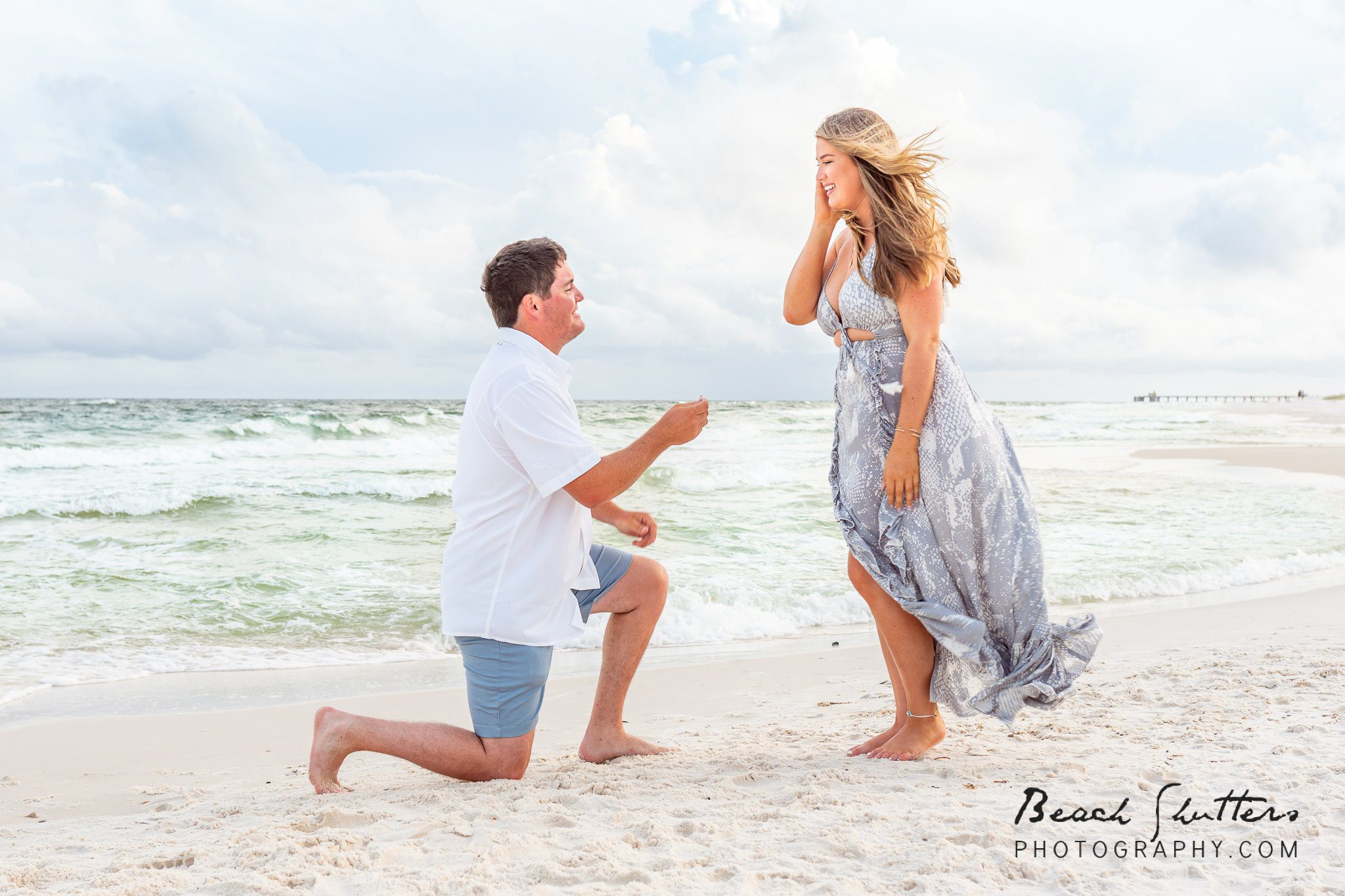 engagement photos in Gulf Shores