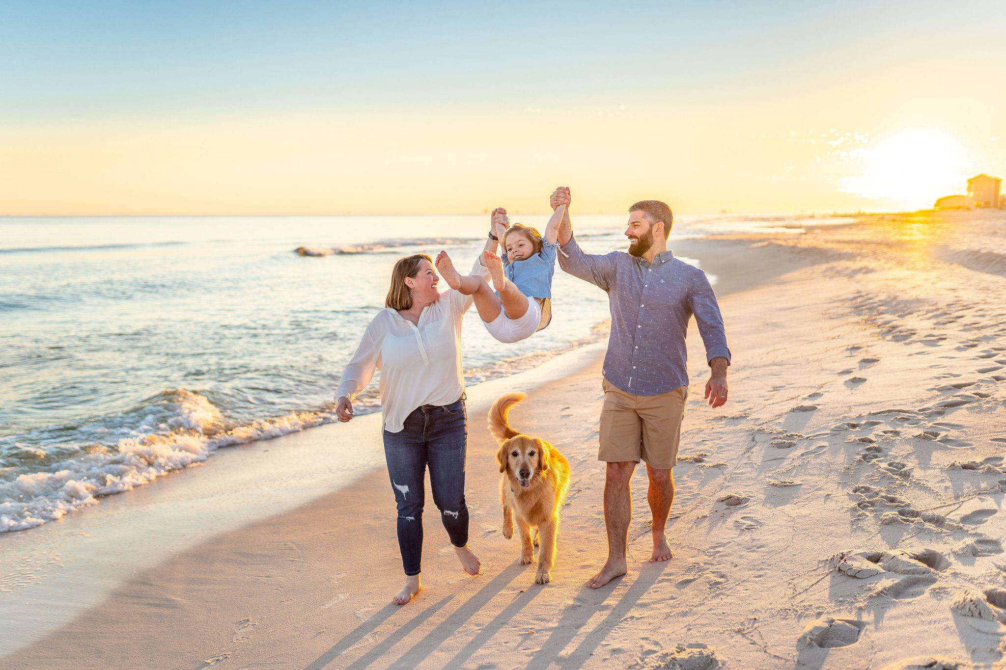 Pet-friendly photography in Gulf Shores, Fort Morgan