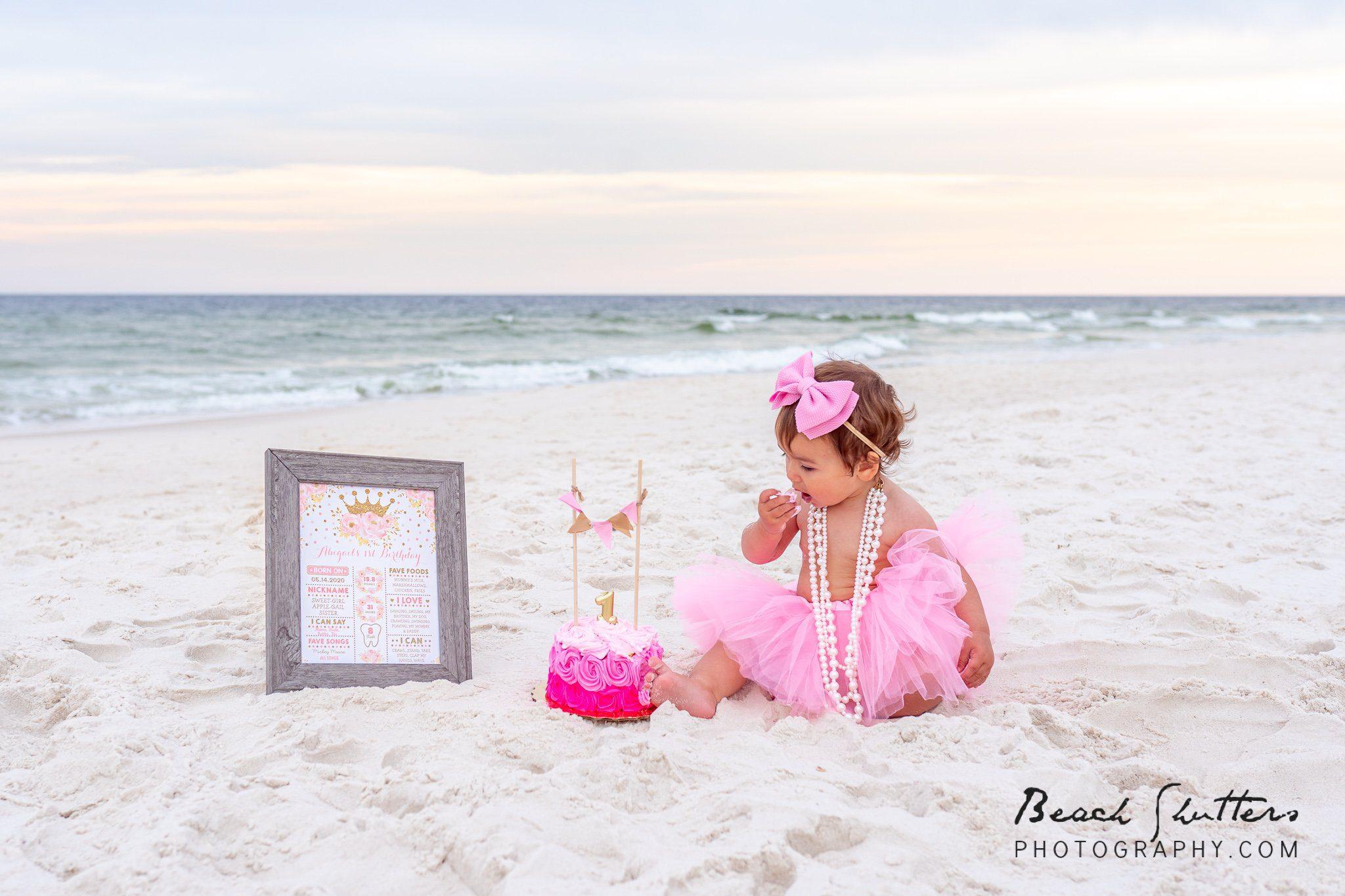 First birthday photos in Orange Beach Al