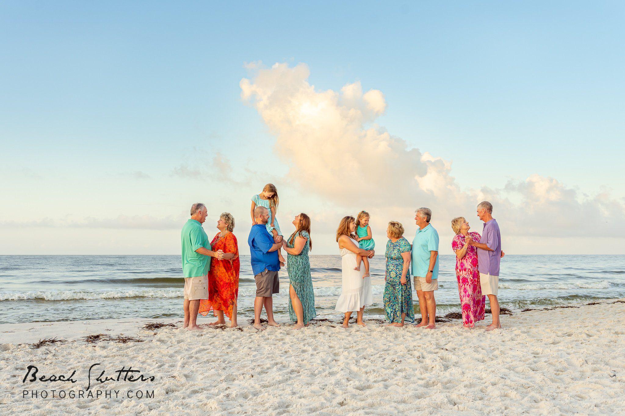 All together beach photos