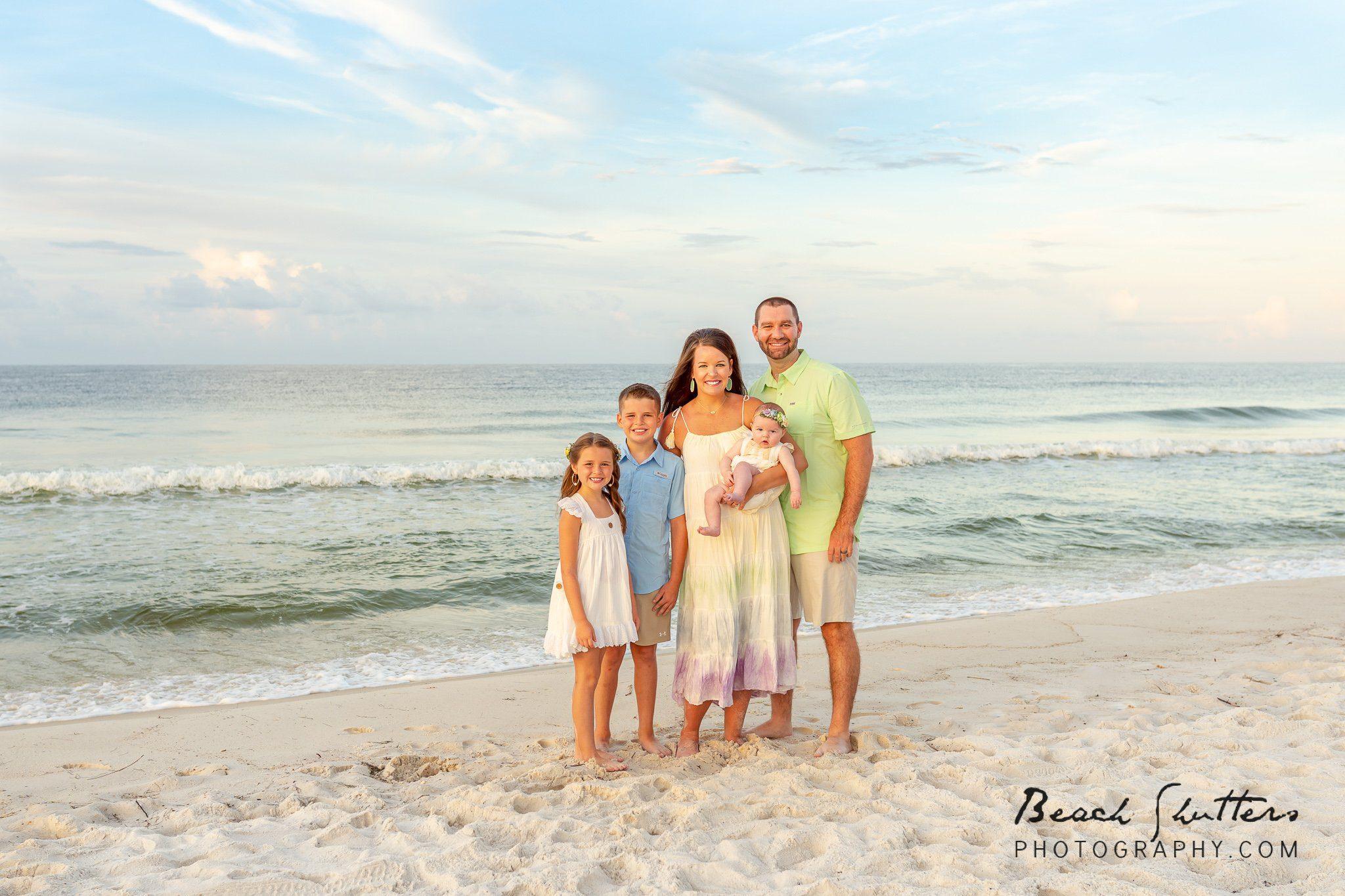 photos by the shore in Orange Beach Al