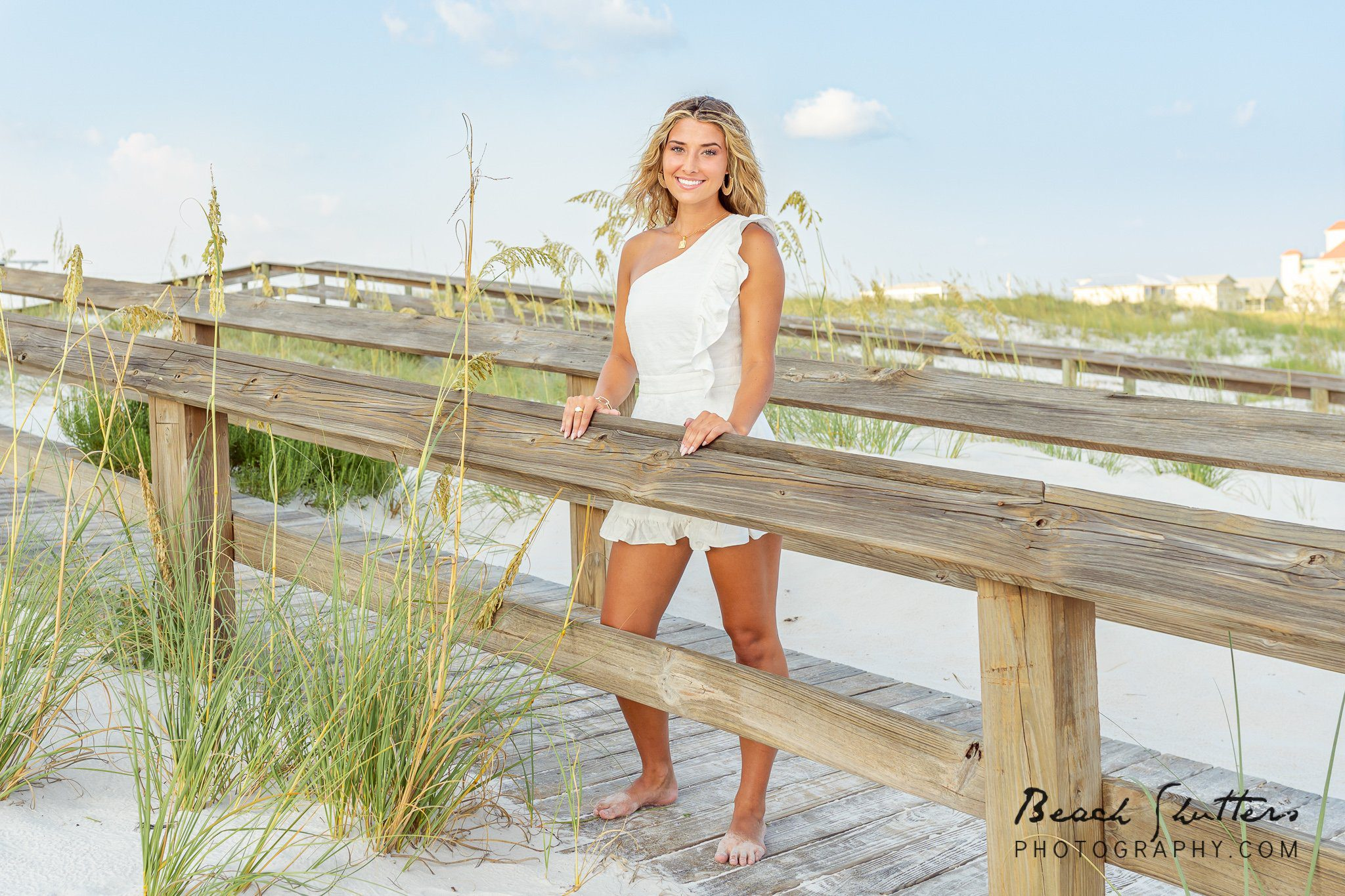 senior beach portraits in Gulf Shores
