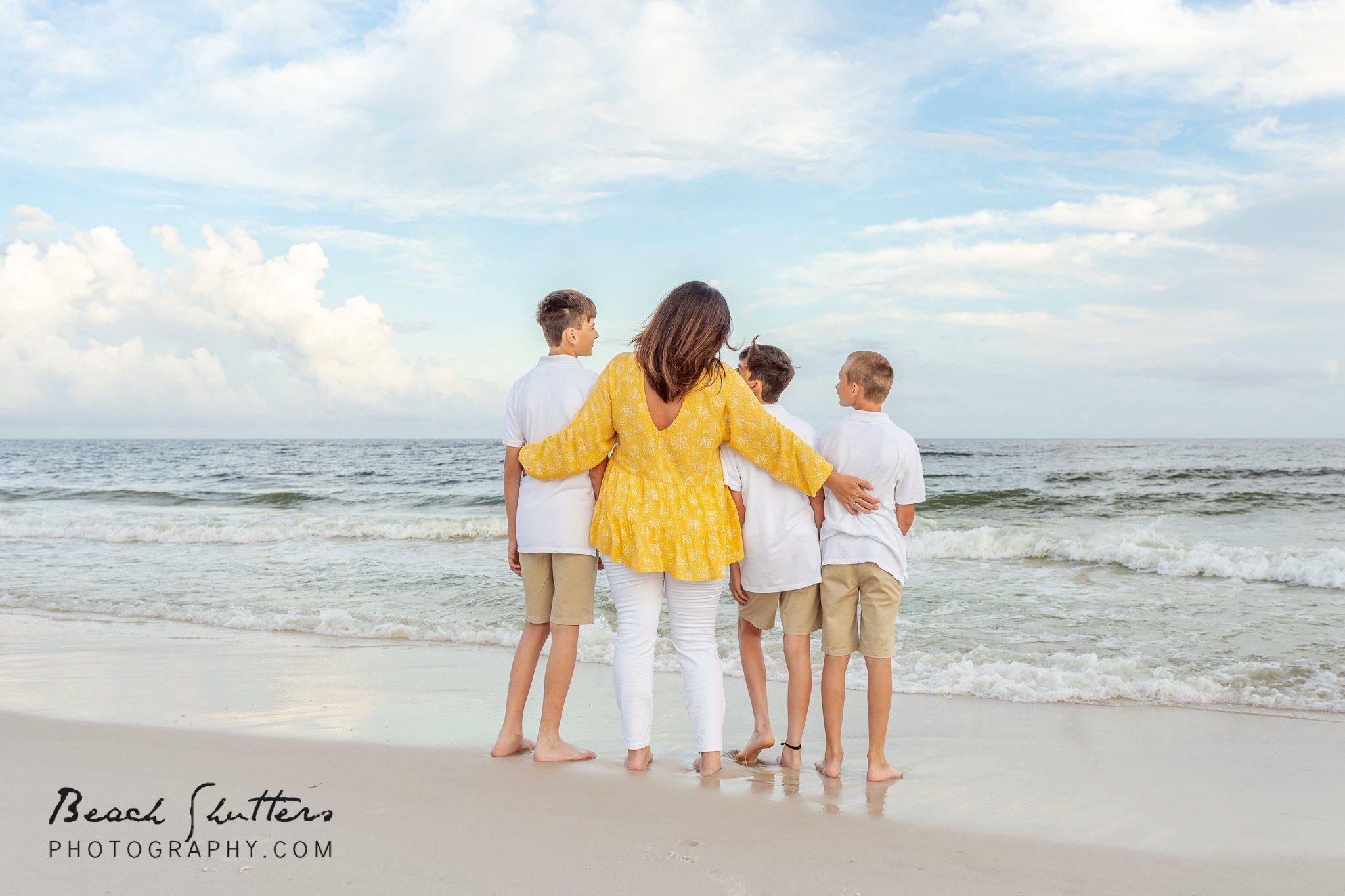 family photographers Fort Morgan Beach
