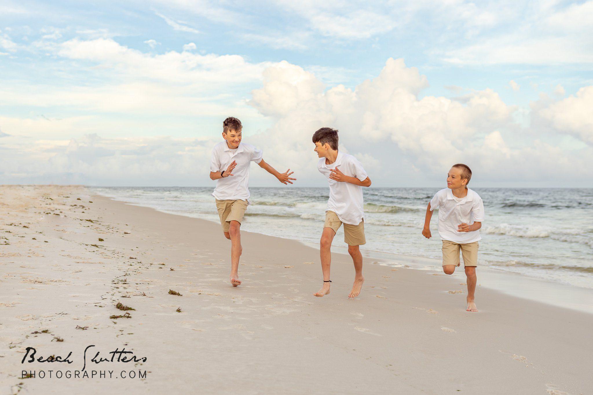 flipping good photos in Orange Beach