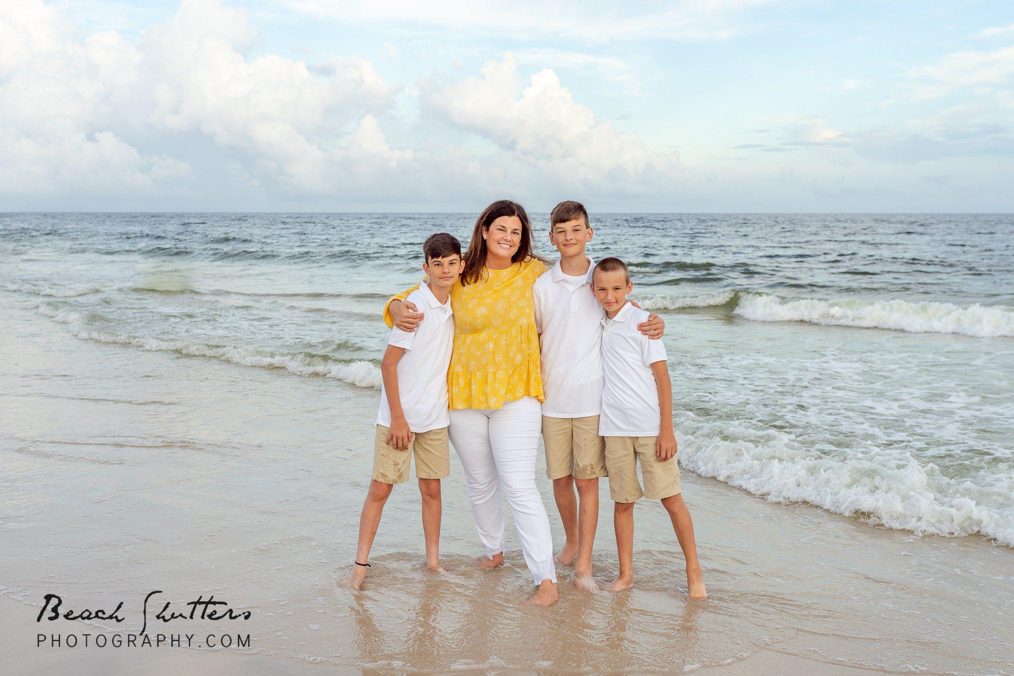 family photos in Gulf Shores