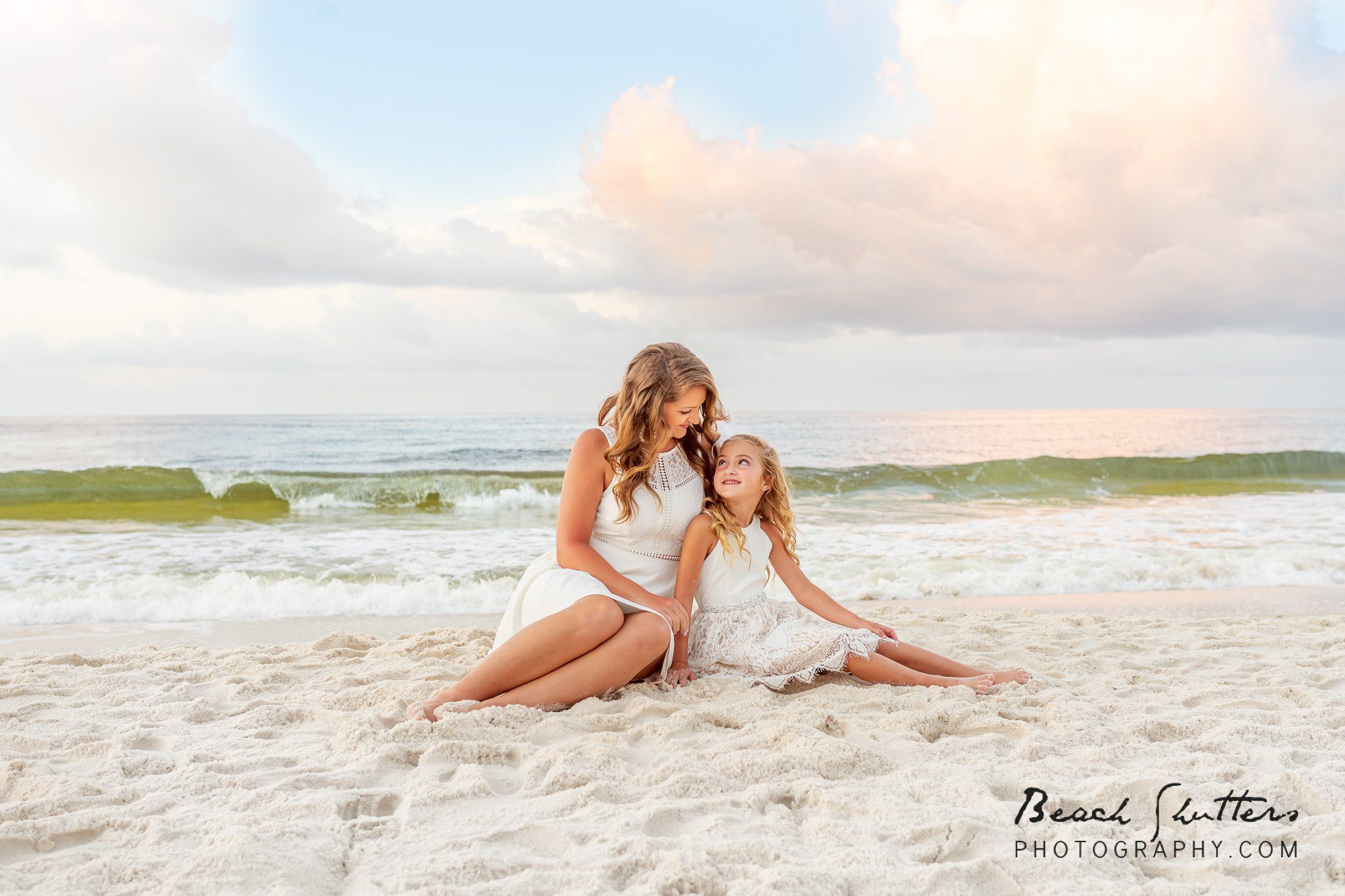 beach portraits in Orange Beach