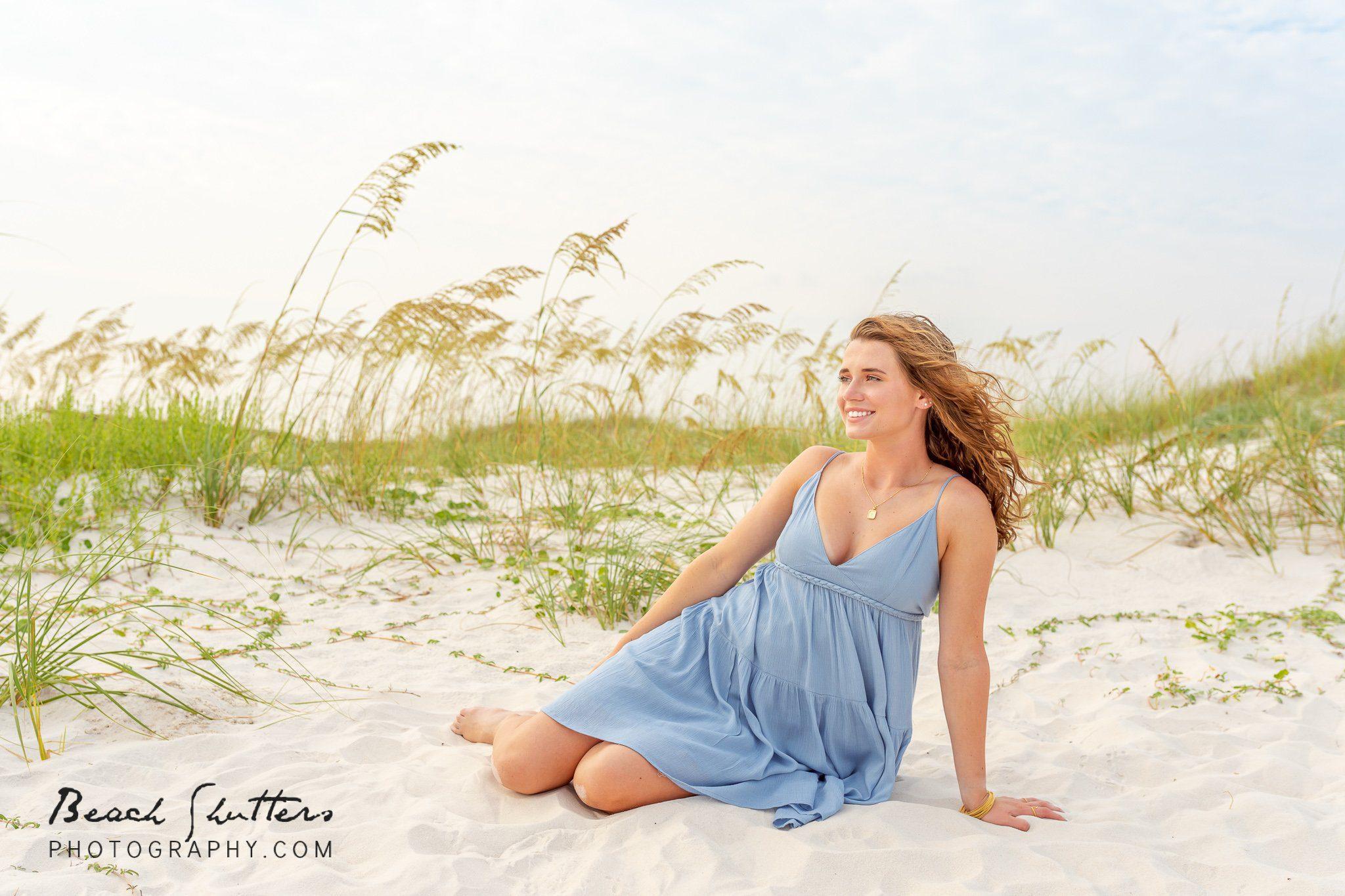 Senior portraits in Orange Beach Al
