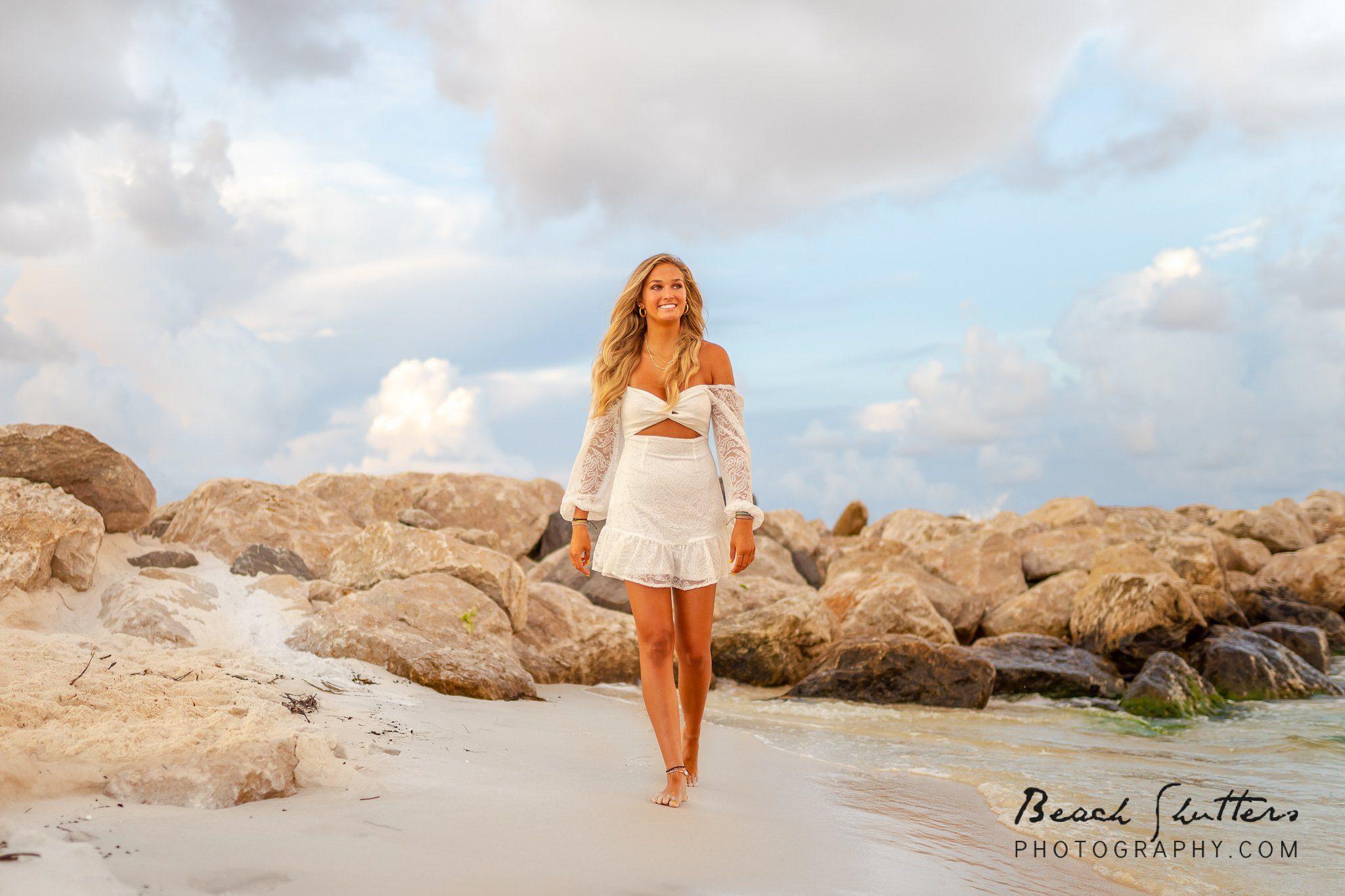 senior beach portraits make the best photo session